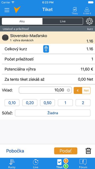 aplikácia Tipsport