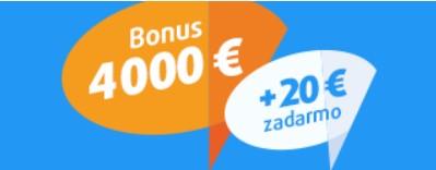 Tipsport bonus 4020 eur - akčný kód Tipsport