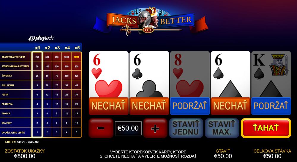Fortuna Poker Jacks or Better